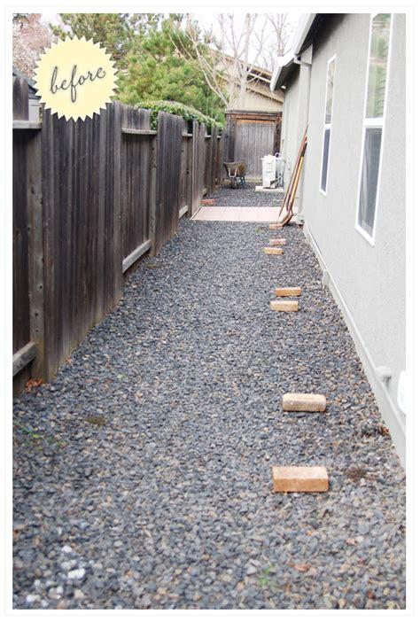 Gravel Side Yard Side Yard Gravel To Garden Ink Press