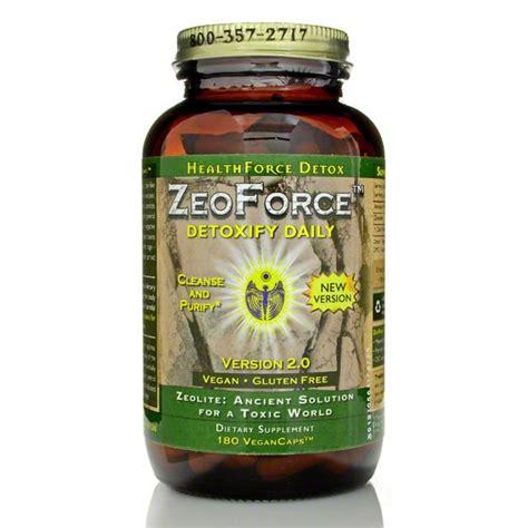 Zeoforce Detox Reviews by Healthforce Zeoforce Zeolite Healthforce Nutritionals