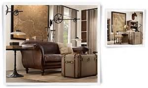 restoration hardware living rooms restoration hardware living room industrial chic pinterest