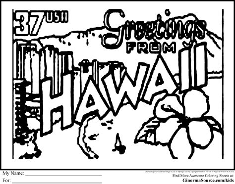 hawaii fish coloring pages hawaii state fish coloring page preschool hawaii coloring