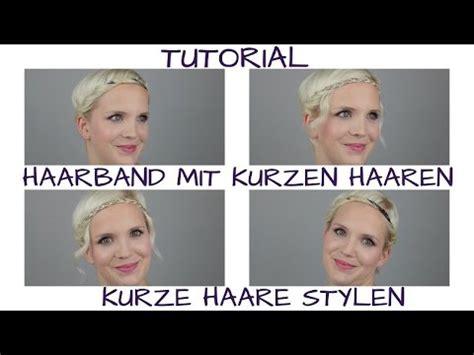 Kurzhaarfrisuren Mit Haarband by Kurzhaarfrisur Mit Haarband Moderne M 228 Nnliche Und