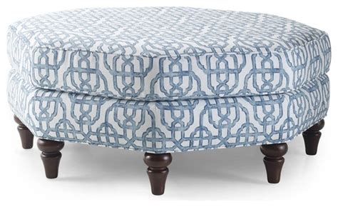 Octagon Ottoman Blue Octagonal Ottoman Contemporary Footstools And Ottomans By Overstock