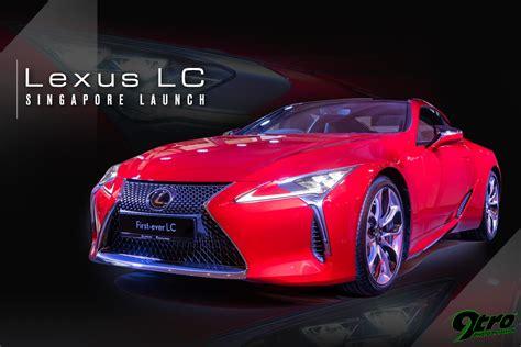 lexus singapore lexus lc singapore launch 9tro