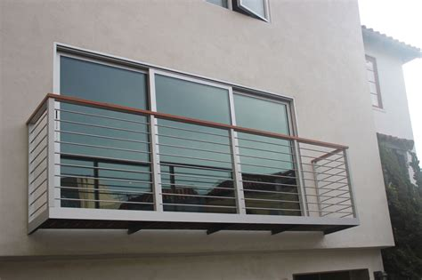 gel nder edelstahl balkon balkon edelstahl zaun draht gel 228 nder foto auf de made in