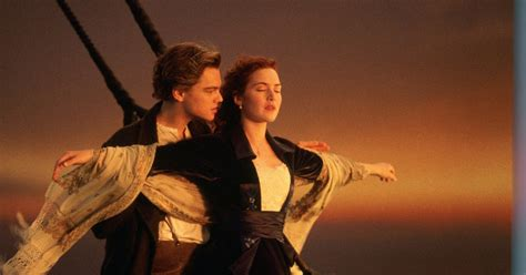 film titanic leonardo di caprio movie buff s reviews aboard with the king of the world