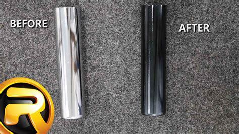 Aluminium Paint Chrome Paint Cat Aluminium how to spray paint chrome black