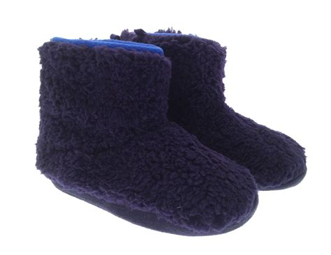 house shoes boys boys girls kids childrens xmas slippers boots booties fairisle fleece size 9 3 ebay