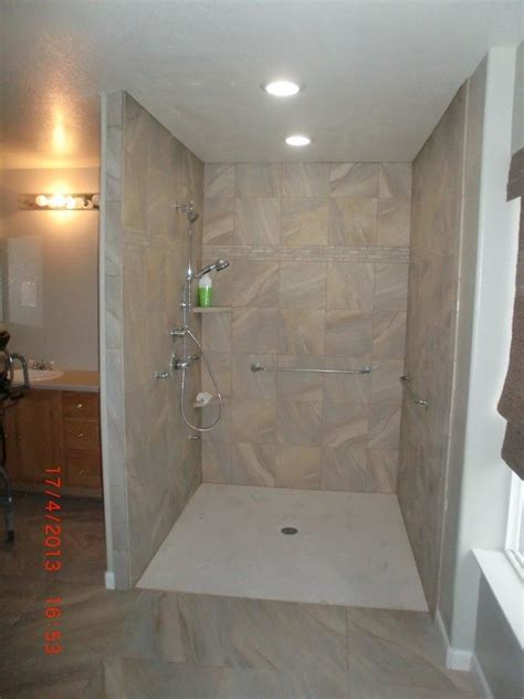 Bathroom Showers Style Zero Threshold Shower Co Accessible Systems