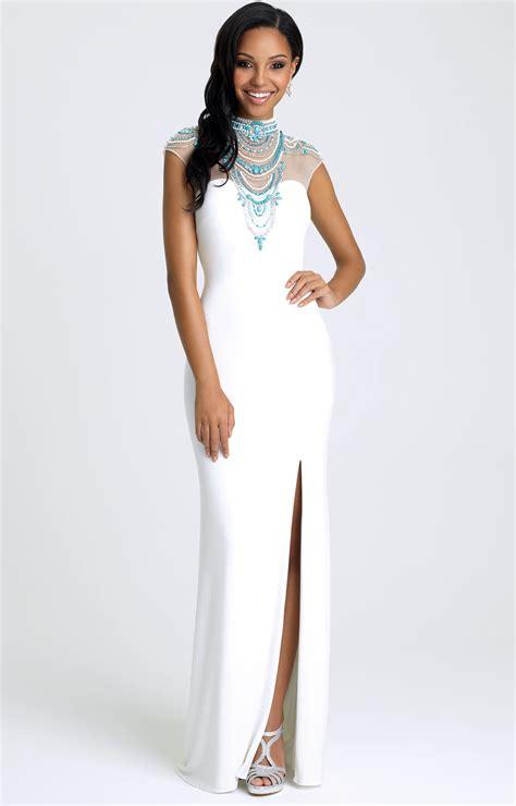 madison james   walk   egyptian dress prom dress