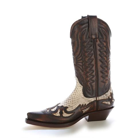 brown snakeskin cowboy boots for s brown snakeskin