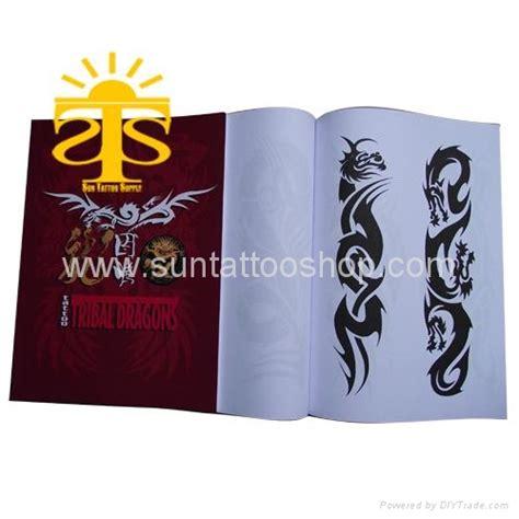 flash book sun peng tattoo flash book tribal dragons designs stb006 sun