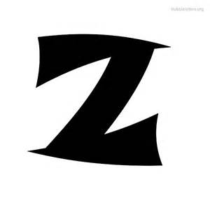letters z print alphabets z bubbleletters org