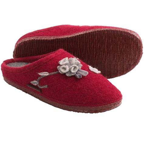 boiled wool slippers womens giesswein andrea slippers for 8789a save 42