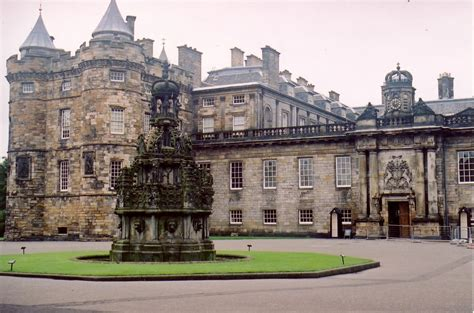 holyrood house panoramio photo of edinburgh palace of holyrood house