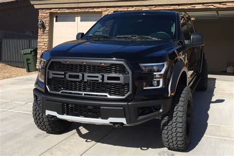 ford f150 with raptor style grille and bumper 2017
