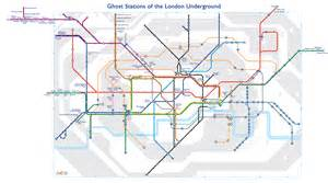 underground station map a map of s ghost stations now here this time out