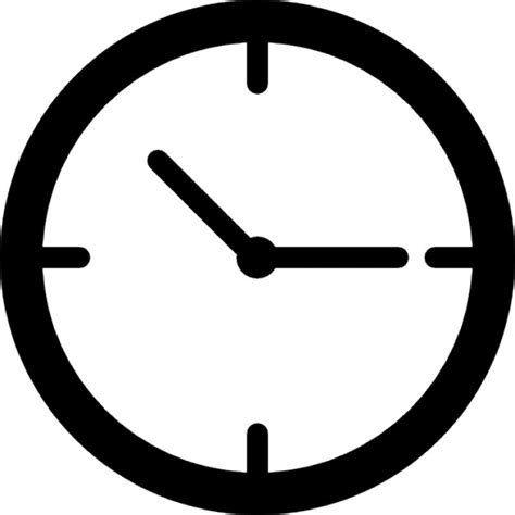 simple clock uhr icon images usseek com