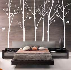 Tree Wall Art Decals Vinyl Sticker Modern Tree Wall Decals Decoist