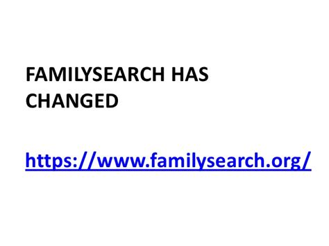 Family Search Org Records Treasures In Family Search