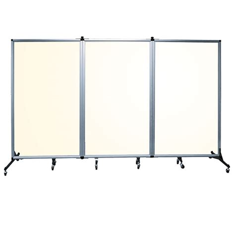 Acrylic Room Divider Screenflex Clear Acrylic Room Divider 3 Panels Schoolsin