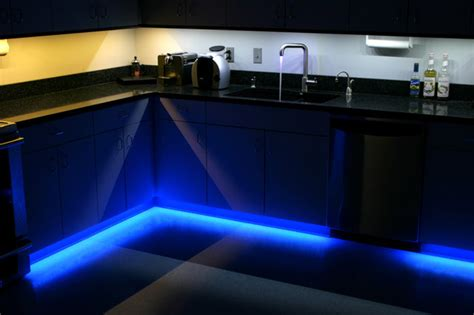 under cabinet led lights kitchen led kitchen under cabinet and toe kick lighting