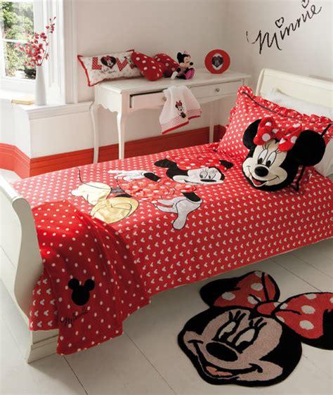 Disney Minnie Mouse Oh My Duvet Set Cushion Fleece Rug Minnie Mouse Bed Set