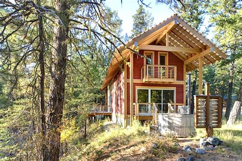 Washington Cabins by Airy Foster Loop Cabin In Washington State Is A High