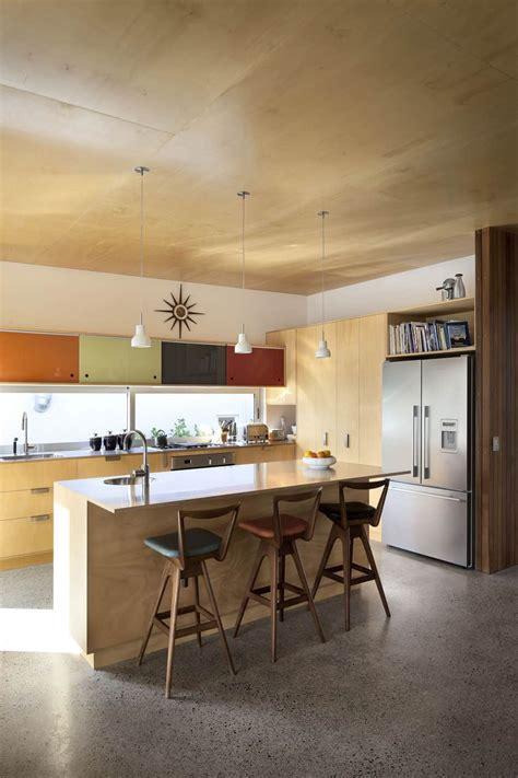 modern architecture  vintage interior
