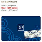 American Express Rewards Redemption Gift Cards - best american express membership reward redemption cash via gap gift cards my