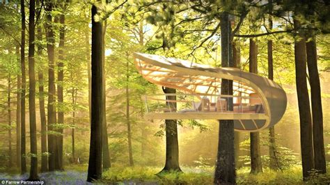 luxury tree house plans e terra samara luxury tree house villas in canada s bruce peninsula forest daily
