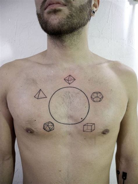 geometric tattoos for guys 50 geometric tattoos for and amazing ideas