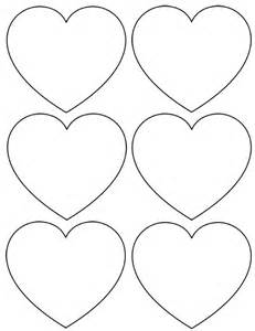 heart template cut out printable one cardboard from d i y