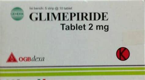 Amadiab 2mg Tablet glimepiride kegunaan dosis efek sing mediskus