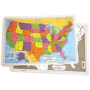 us map placemat u s map placemat by xump