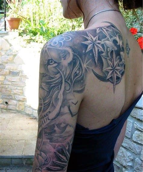 black and grey half sleeve tattoo designs women sleeve tattoos designs black and grey tattoo