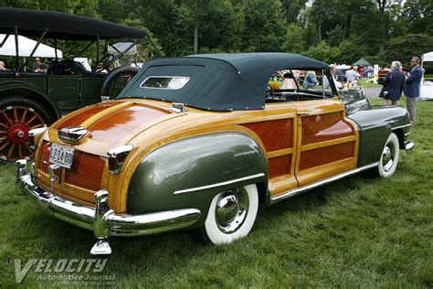 1948 Chrysler Town And Country by 1948 Chrysler Town Country Convertible Pictures
