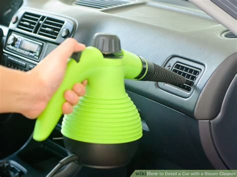 car upholstery steam cleaner rental how to detail a car with a steam cleaner 6 steps with