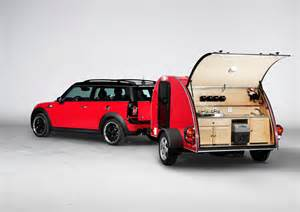 autosexclusive mini goes cing with mini cowley caravan