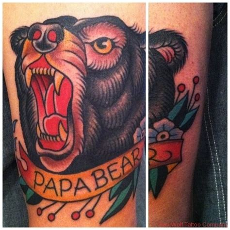 american traditional bear tattoo 25 best ideas about black on