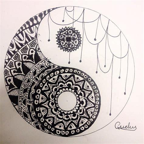 yin yang mandala coloring pages yin yang mandala by coosdalas on deviantart