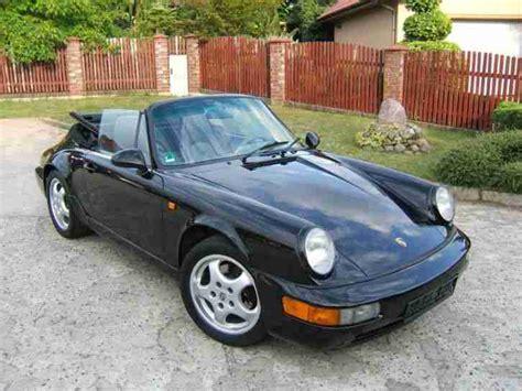 Porsche 911 964 Kaufen by Porsche 911 964 2 Cabrio Schwarz Porsche Cars