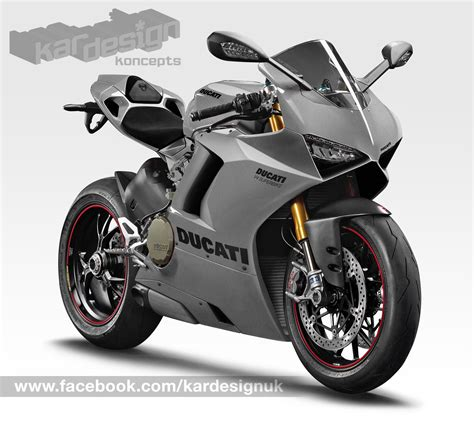 V4 Motorrad by Exclusive Look At The New Ducati V4 Kardesign Koncepts
