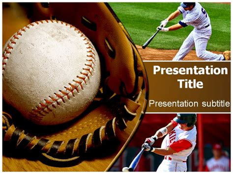 baseball powerpoint template free baseball bat powerpoint templates base powerpoint