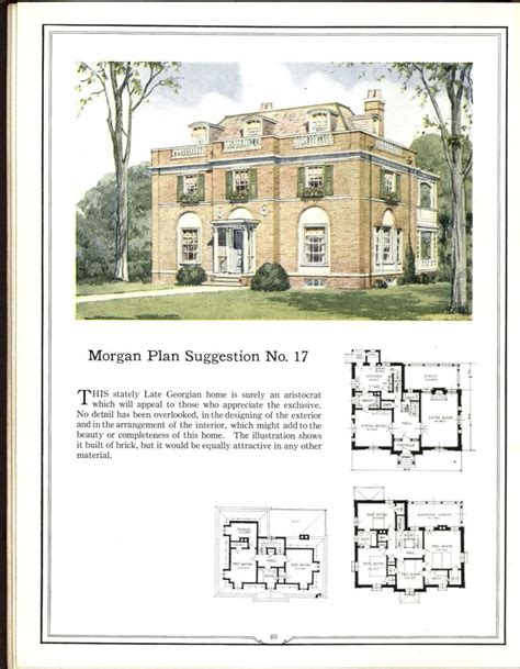 antique colonial house plans 266 best images about vintage home plans on pinterest dutch colonial modern homes
