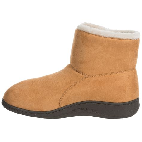 vs slippers vionic with orthaheel technology vanah boot slippers for