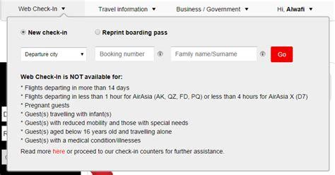 airasia online check in tips cara membeli tiket airasia secara online teroka