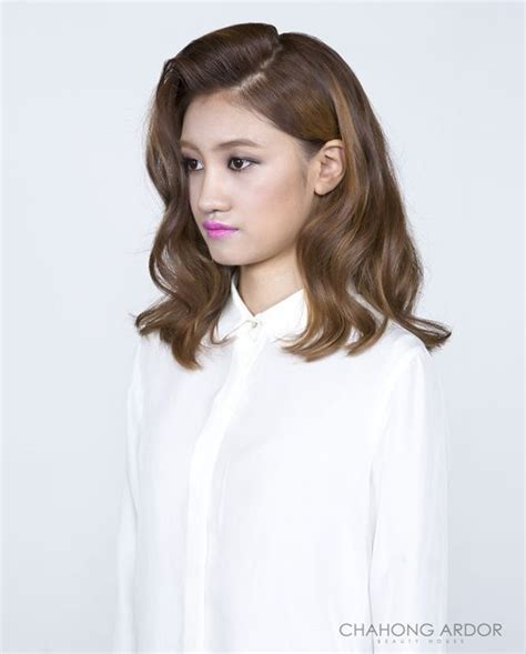 asian permed hairstyles asian perm hairstyles really chic illusion wave perm 일루전 웨이브 펌 hair style by chahong ardor