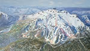 mammoth mountain california map mammoth mountain trail maps mammoth ski trail maps