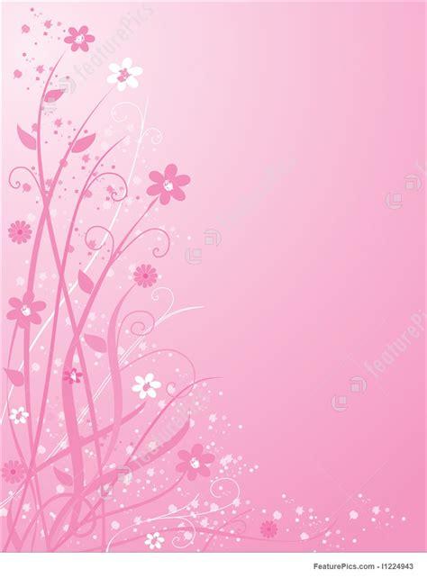 Floral In Pink pink floral background