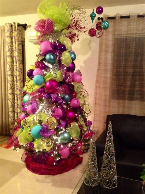 decoracion de arboles con cinta ideas para decoracion de arbol de navidad 2015 trees